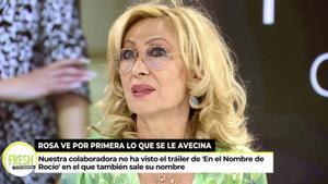 """Rosa Benito, alarmada por la nueva temporada de 'Rocío': """"Me pregunto si será un maltrato a la familia"""""""