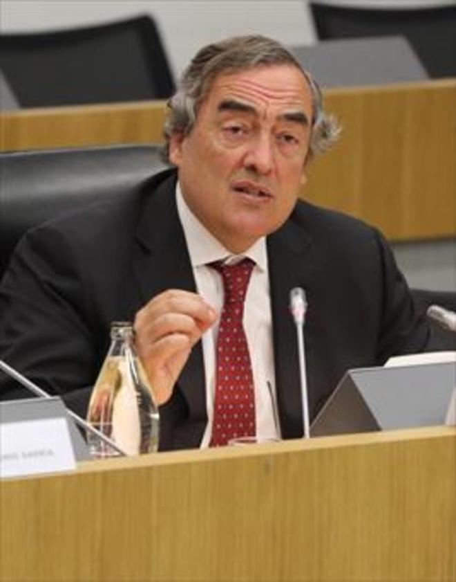 Juan Rosell, presidente de la CEOE, en un acto reciente.