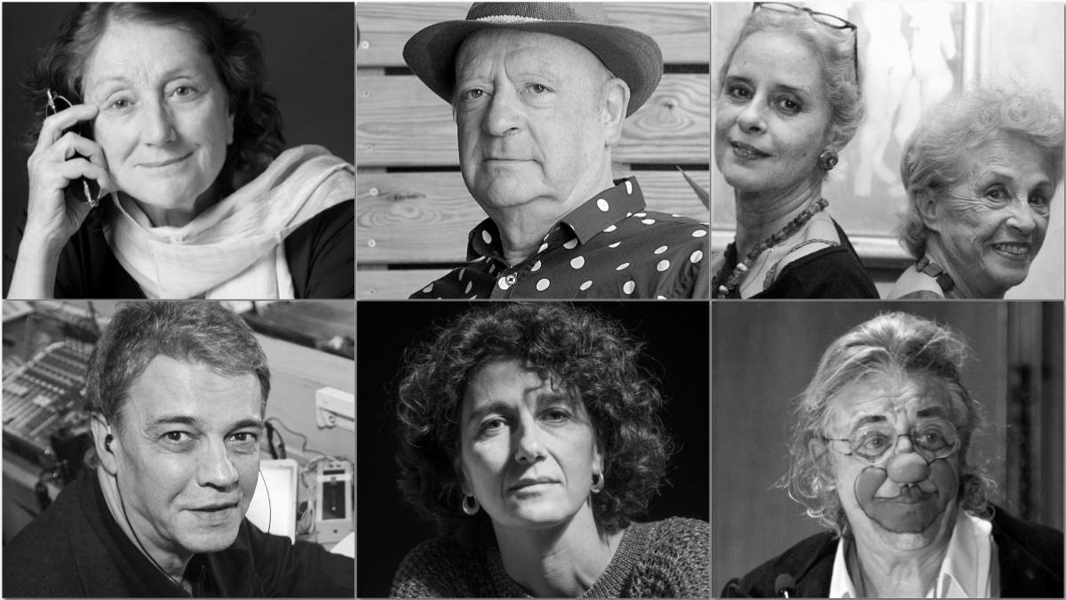 Rosa Regàs, Jaume Sisa, Vicky Peña y Montserrat Carulla, Joaquim Maria Puyal, Marina Garcés y Jaume Mateu, algunos de los pregoneros de la Mercè de las últimas décadas.