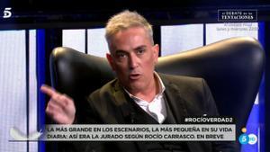 Kiko Hernández en 'Rocío, contar la verdad para seguir viva'