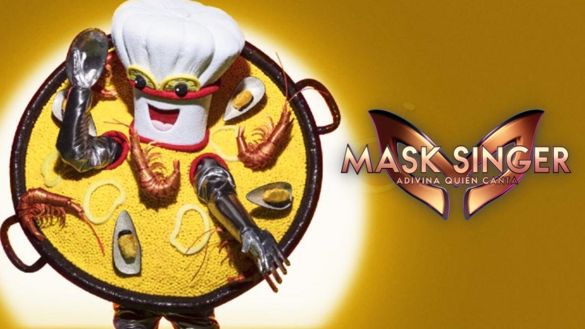 Paella, la nueva máscara invitada de 'Mask Singer 2'