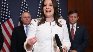 Elise Stefanik, la nueva número 3 de los republicanos en la Cámara Baja