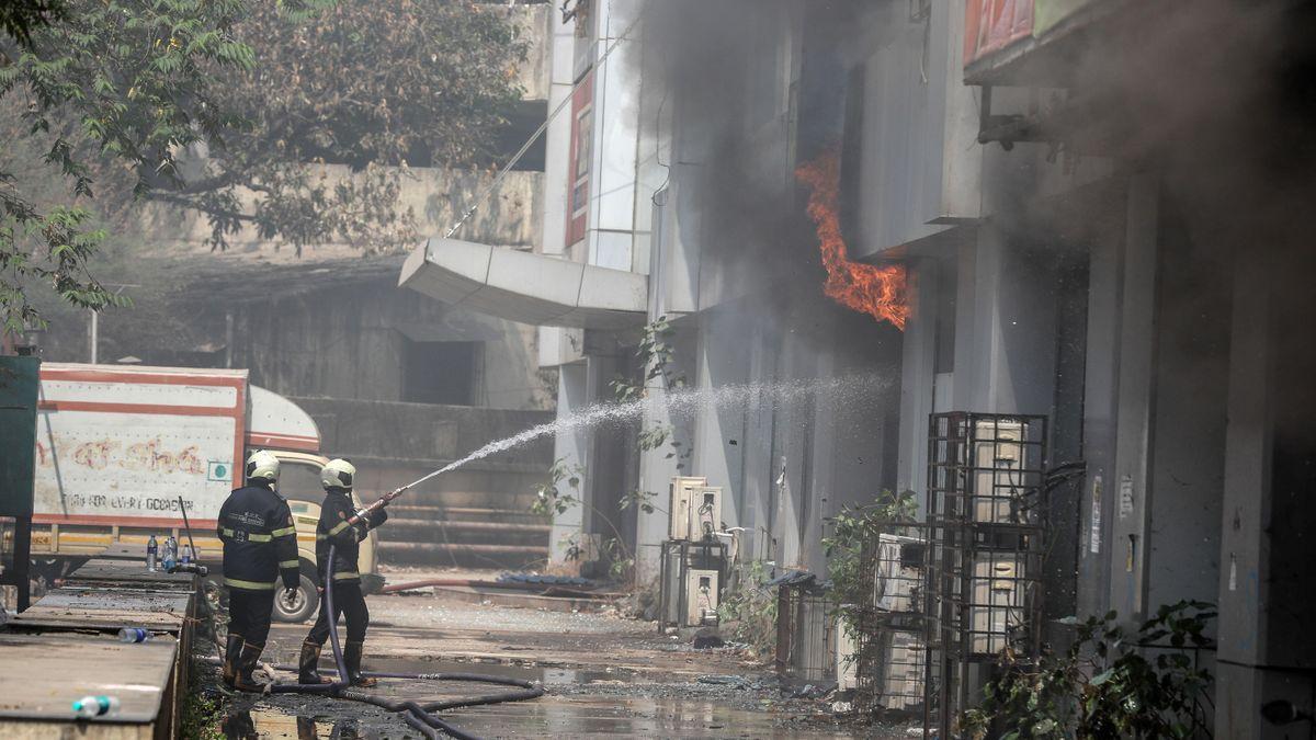 Un incendi en un hospital de Macedònia deixa almenys 10 morts