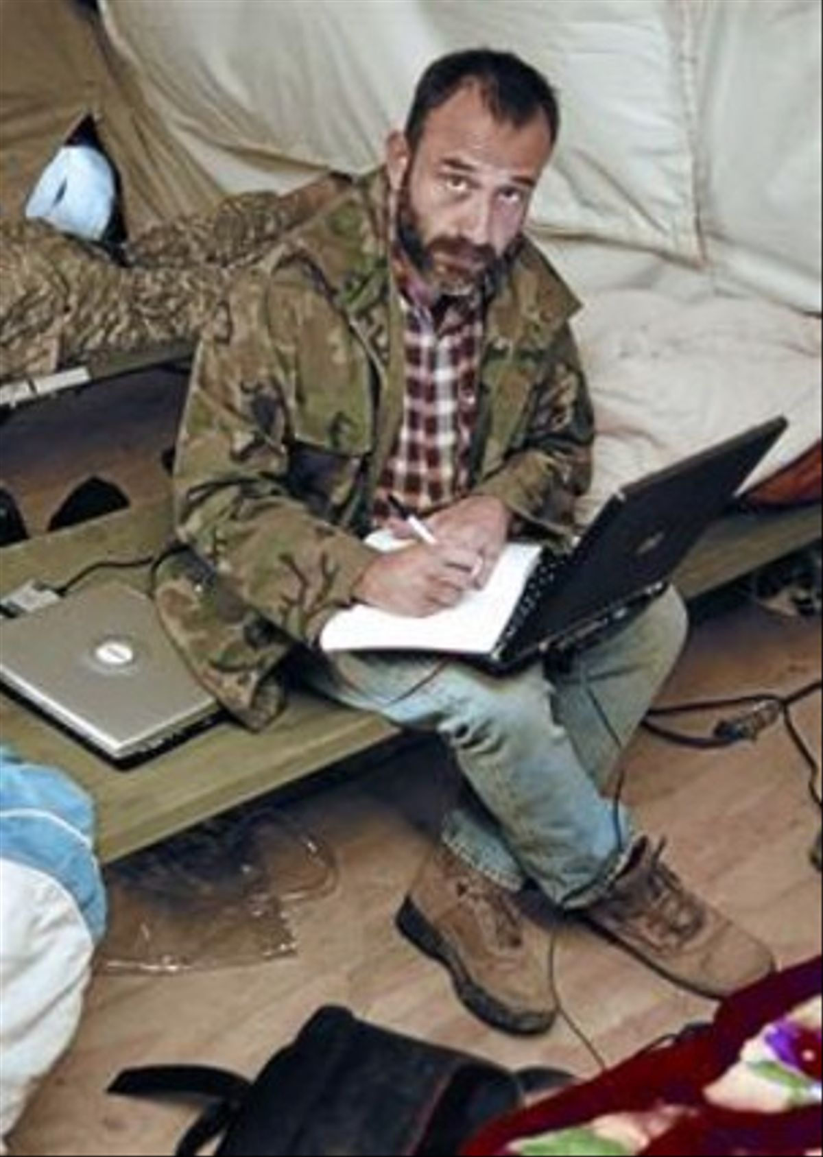 Marc Marginedas, en Afganistán, en diciembre del 2006.