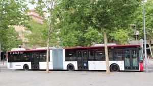 Autobús articulado de Terrassa