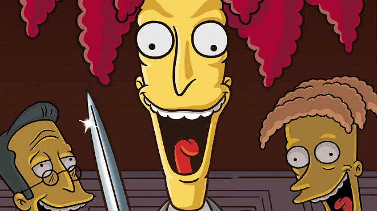 La muerte de Bart Simpson a manos del actor secundario Bob.