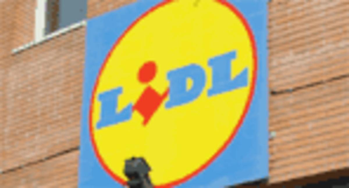Logotipo de la cadena de supermercados Lidl.