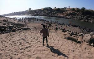 Personas de Tigray en Etiopía.