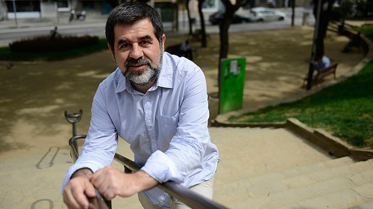 Entrevista con Jordi Sànchez, presidente de la Assemblea Nacional Catalana (ANC).