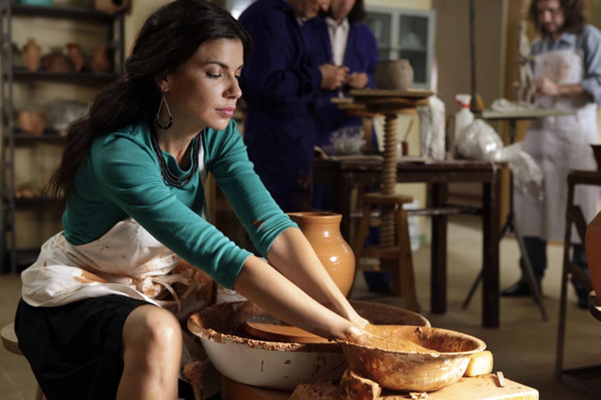 Pilar Punzano, en un fotograma de 'Cuéntame'.