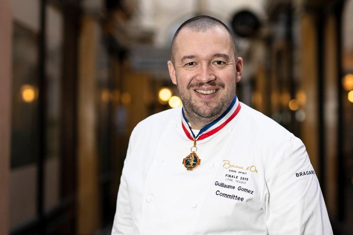 Guillaume Gómez, jefe de cocina del Palacio del Elíseo.