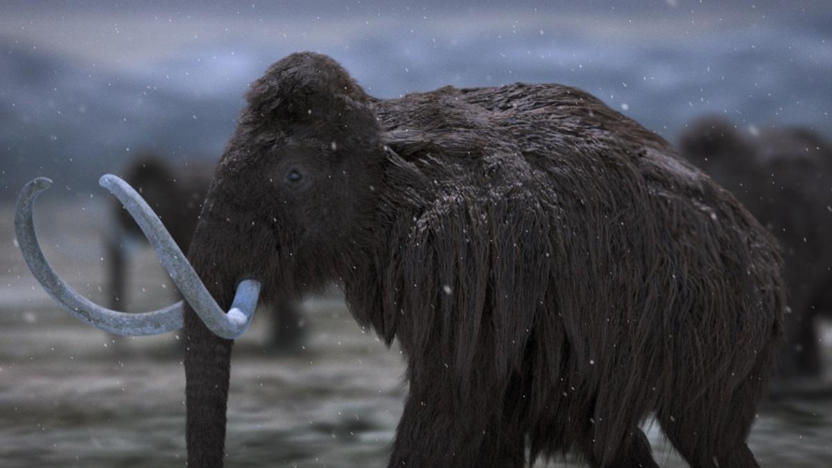 Imagen del documental 'Bestias de la Edad del Hielo' de DMAX.