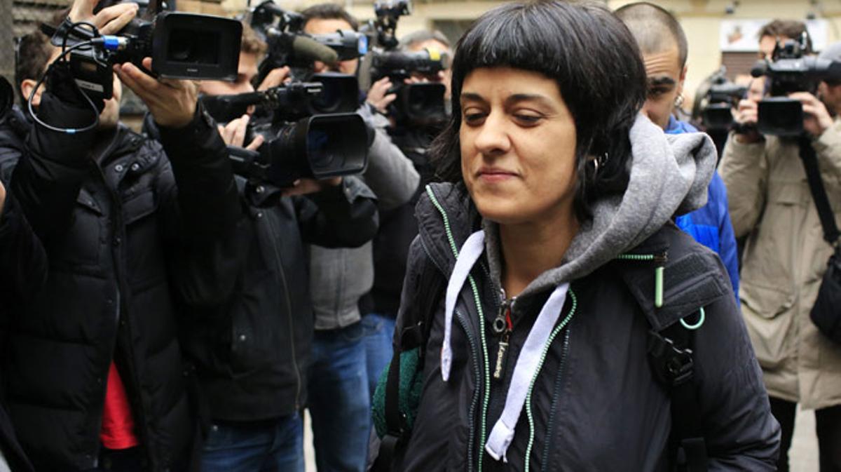 Anna Gabriel ha dicho en declaraciones aCatalunya Ràdio que la CUP ha propuesto investir a otros nombres que no sean Artur Mas.