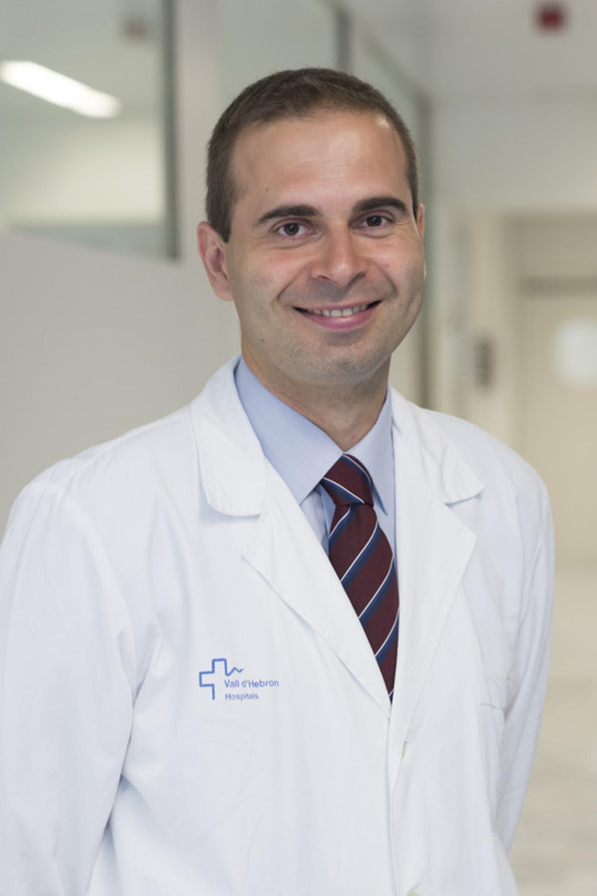 El doctor Jaume Capdevila.