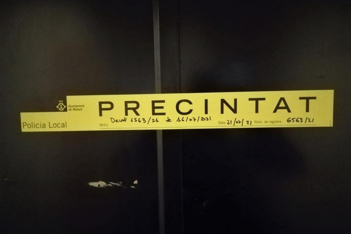 L'Ajuntament de Mataró tanca un prostíbul que funcionava sense llicència