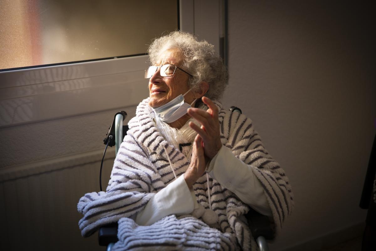 Núria Marcet, 91 anys rebel·lant-se contra la injustícia