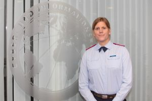 La comandante Anastasia Biefang.