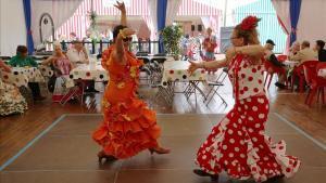 Ambiente en una pasada edición de la Feria de Abril, en el Fòrum.