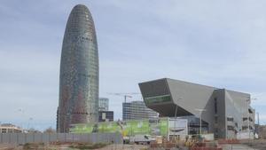 La Torre Glòries de Barcelona.