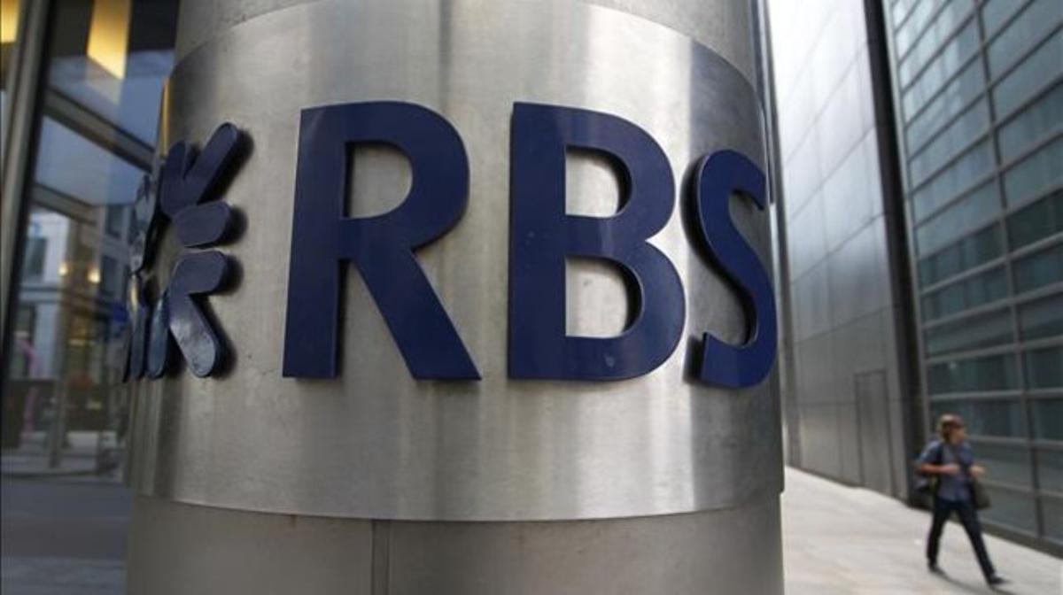 Oficina del RBS en Londres.