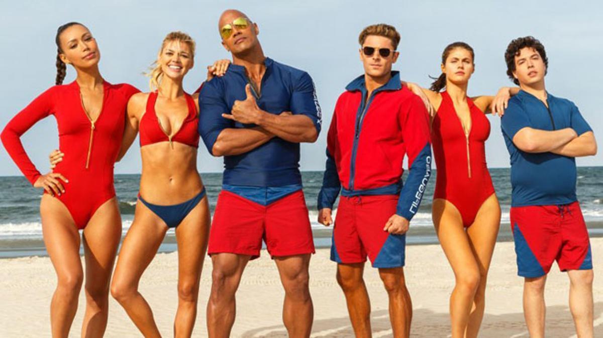Tráiler de 'Baywatch: Los vigilantes de la playa' (2017).
