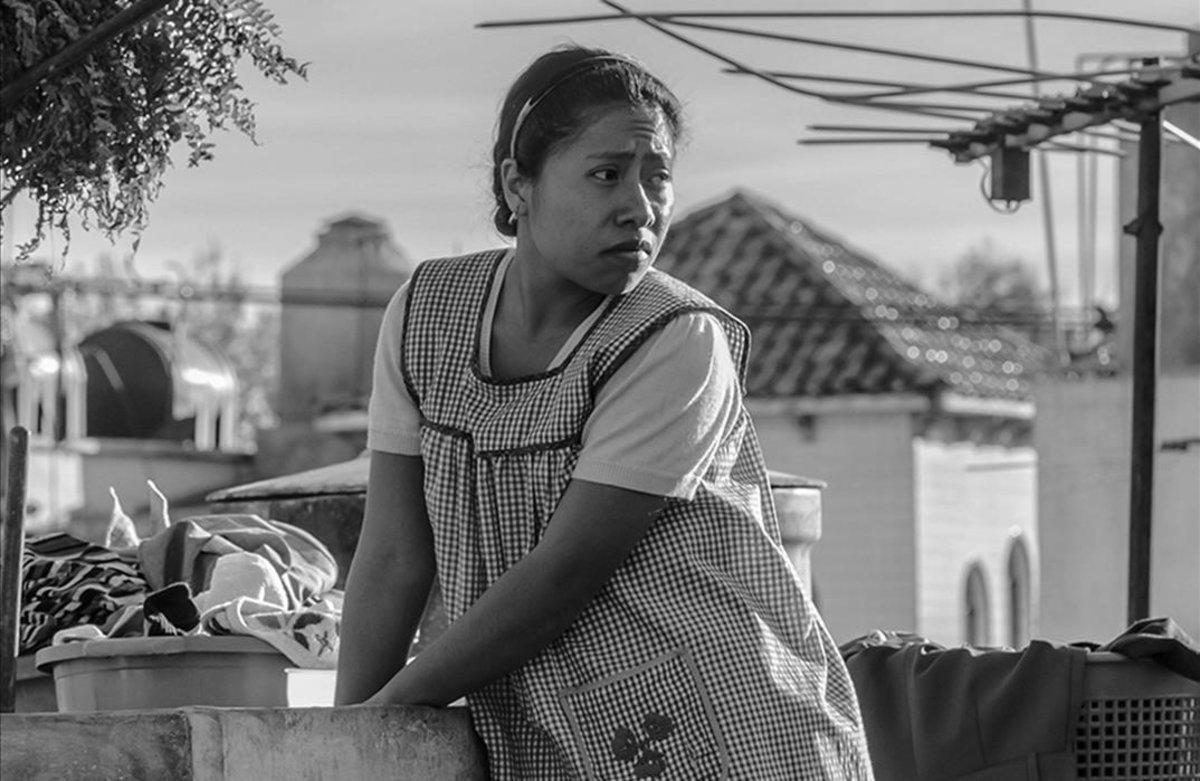 Yalitza Aparicio interpreta a Cleo en 'Roma', de Alfonso Cuarón