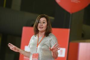 La presidenta de Baleares, la socialista Francina Armengol.
