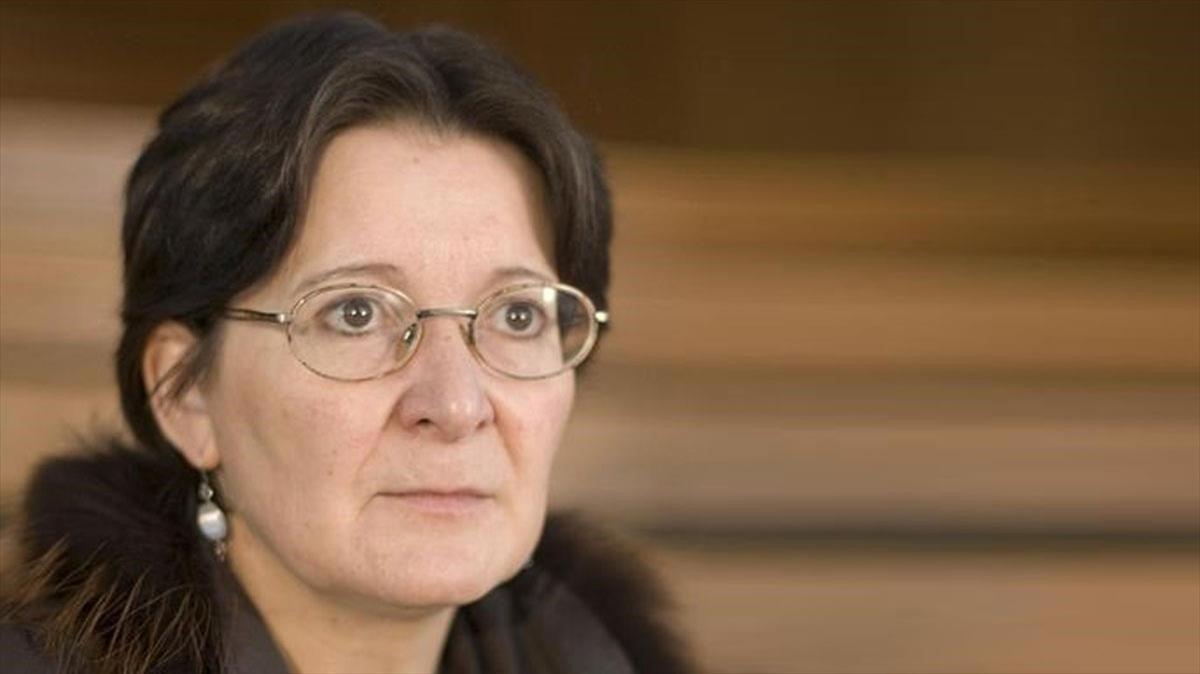 La poeta gallega Pilar Pallarés.