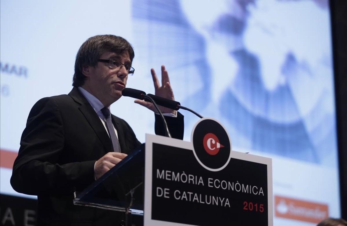 El 'president' Carles Puigdemont.