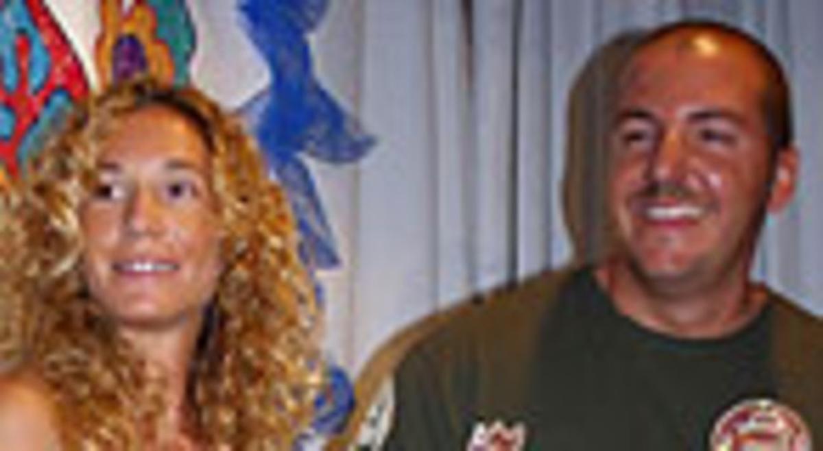 Borja Thyssen y Blanca Cuesta.