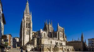 La catedral de Burgos.
