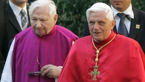 Mor el sacerdot Georg Ratzinger, germà de Benet XVI