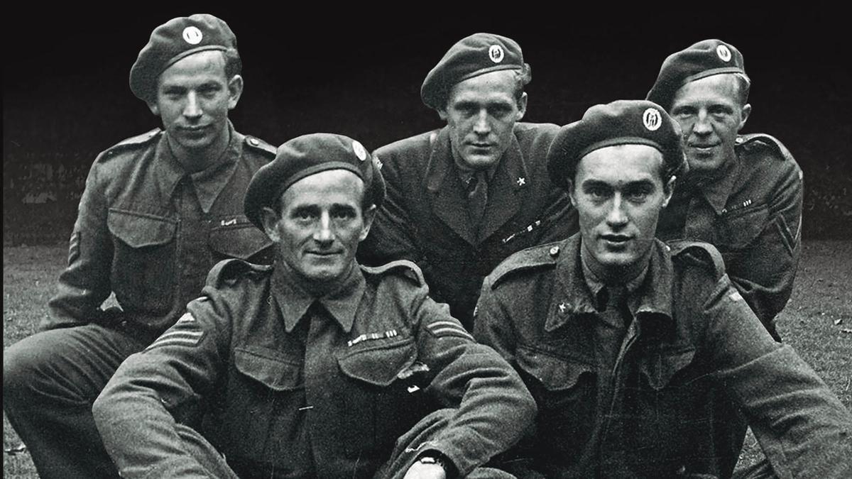 Miembros del 'Comando Gunnerside', encargado de volar en 1943 una fábrica de 'agua pesada' en Noruega.