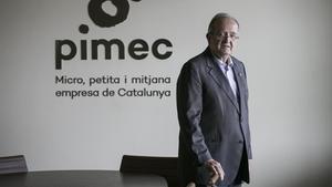 Josep González (Pimec): «Una moratòria fiscal seria millor per donar liquiditat»