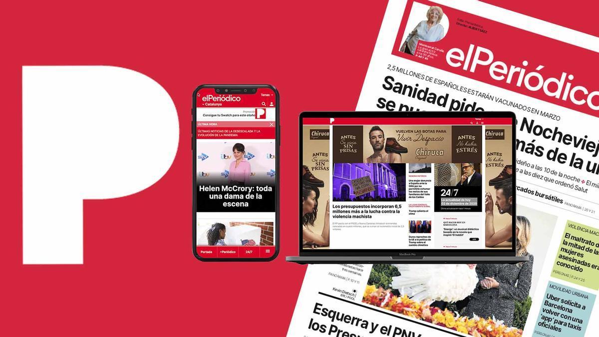 El Periódico estrena nuevo diseño en web y papel