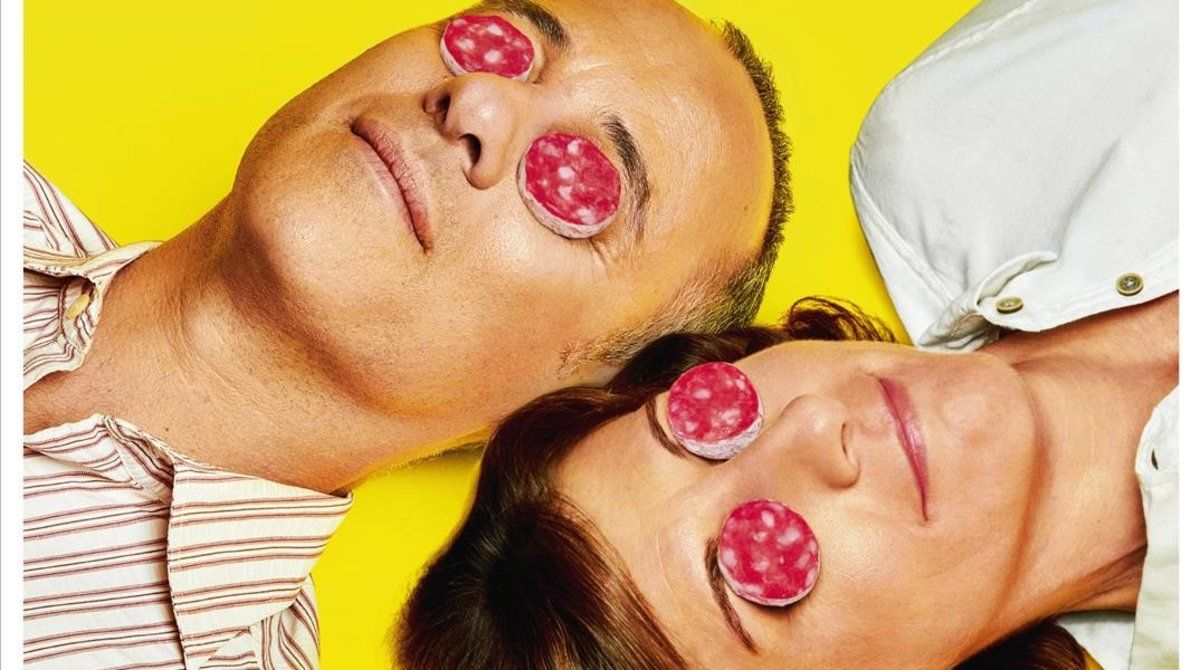 Javier Gutiérrez y Malena Alterio, en la portada de 'Teletodo'.