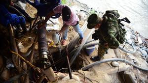 Un ensorrament en una mina d'or atrapa a almenys 15 miners a Colòmbia