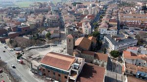 Vista aérea de Parets del Vallès.