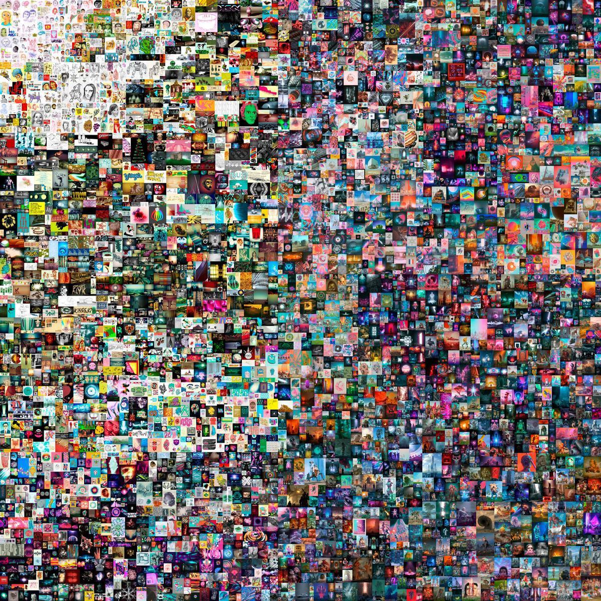 El collage de Beeple vendido por 69 millones de dólares en Christie's