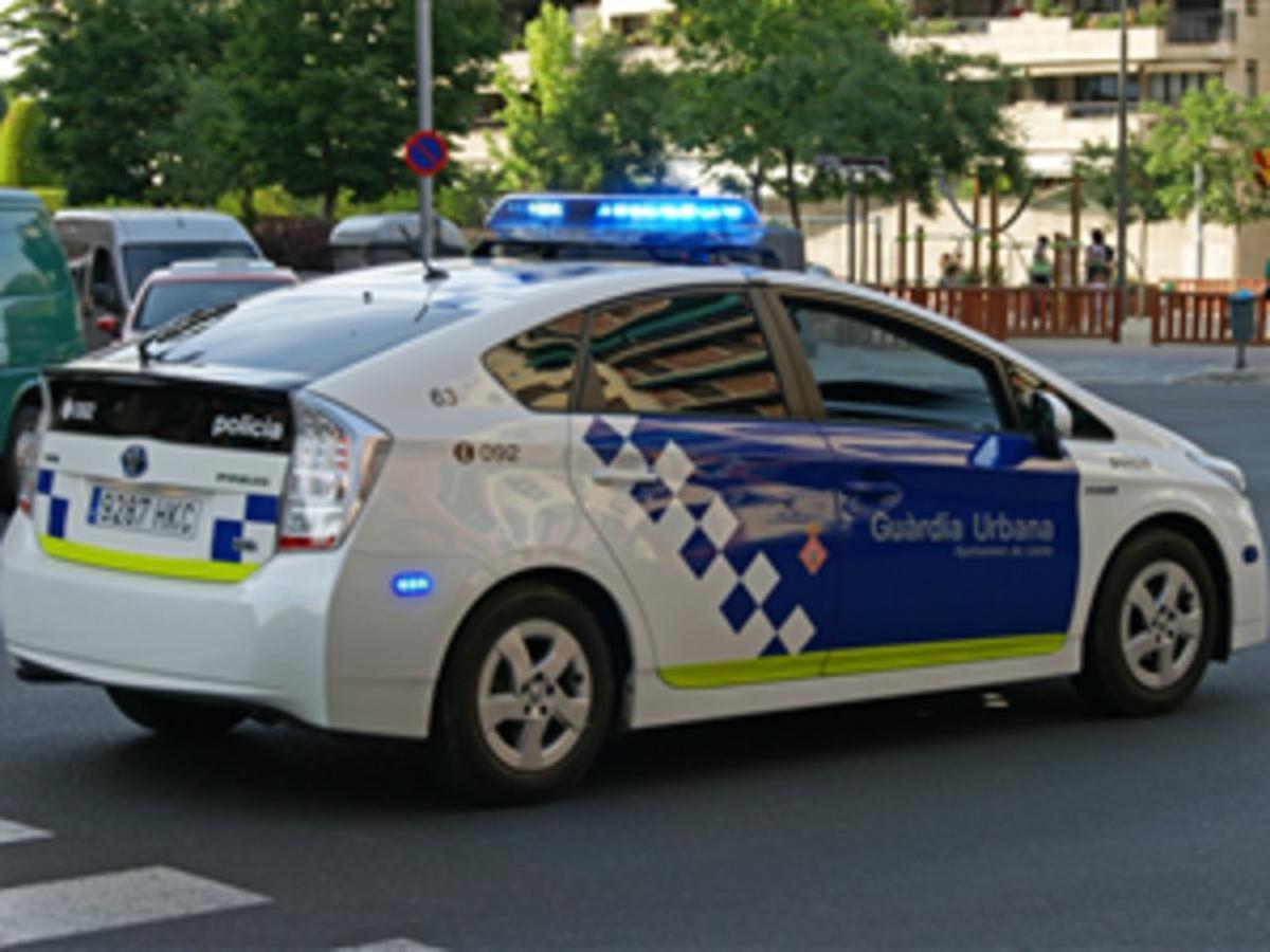 Una patrulla de la Guardia Urbana.
