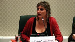 Alba Vergés, presidenta de la comisión de investigación sobre la 'operación Cataluña'.