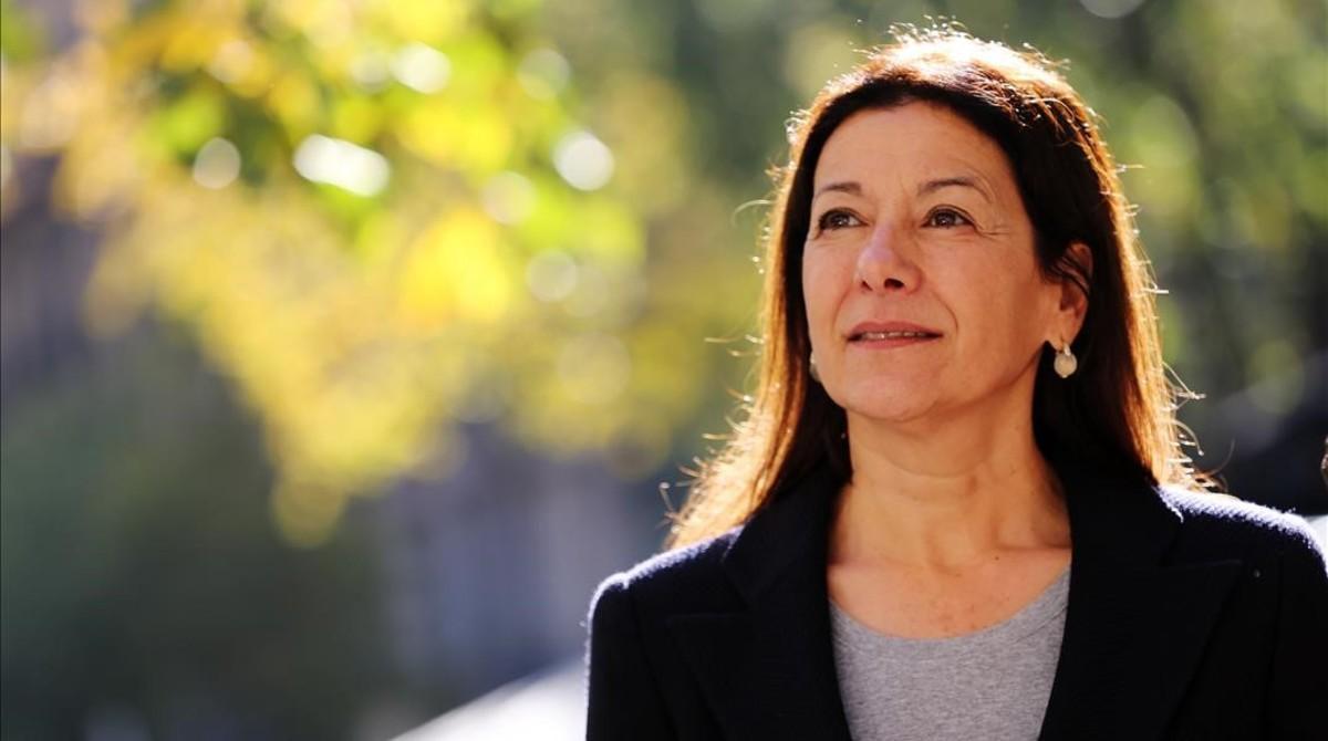 Ángela Rodicio, el 15 de noviembre, en Barcelona.