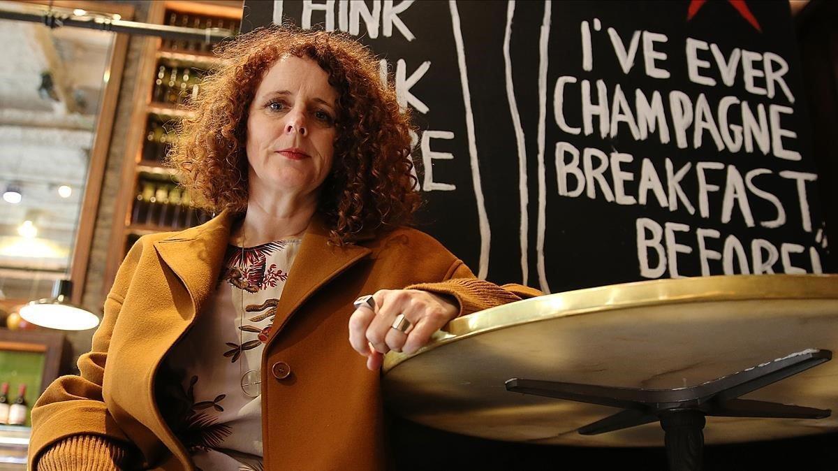 La escritora Maggie O'Farrell.