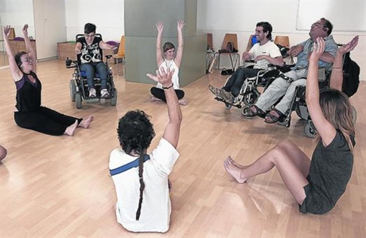 DEPORTISTAS.Algunas actividades para personas con discapacidad.