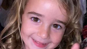 Olivia Gimeno, la pequeña hallada muerta en aguas de Tenerife.