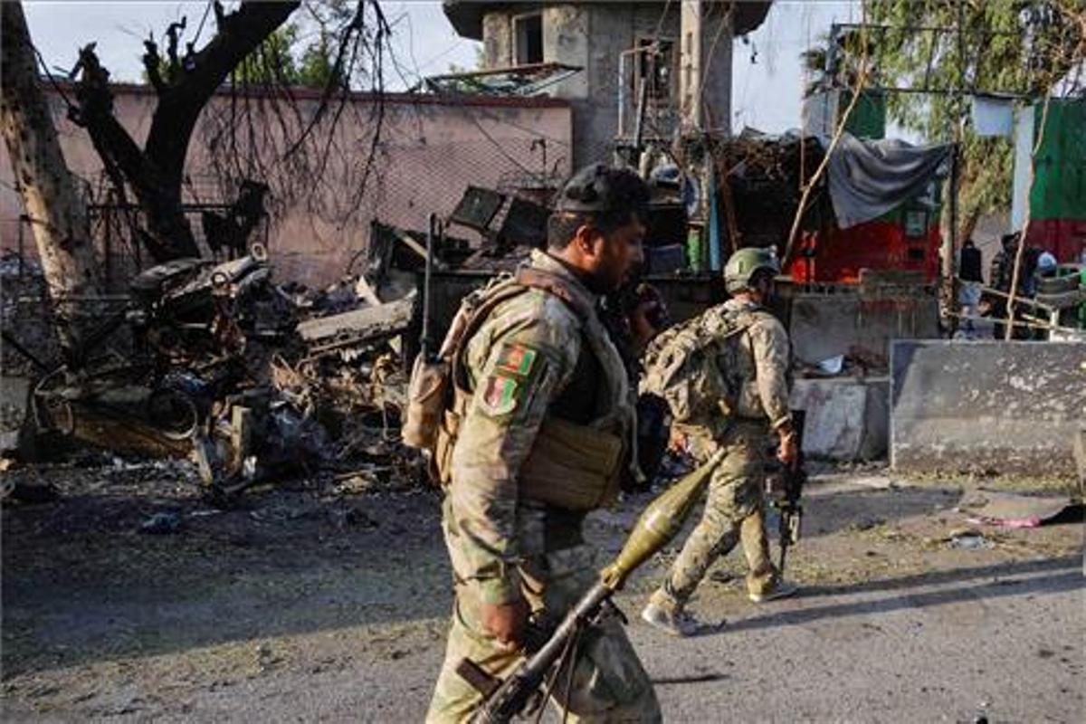 Los ataques se intensificaron después de que las tropas intencionales comenzaran a abandonar el país.