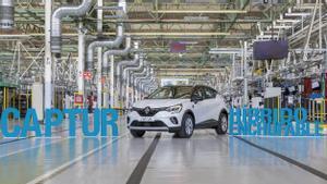 Nuevo Renault Captur híbrido enchufable.
