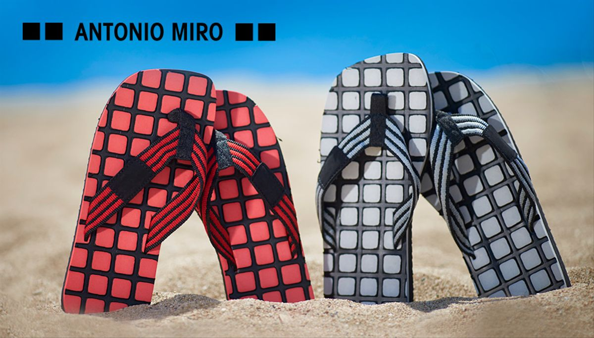 Chanclas Antonio Miro