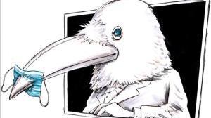 Somos un cuervo blanco
