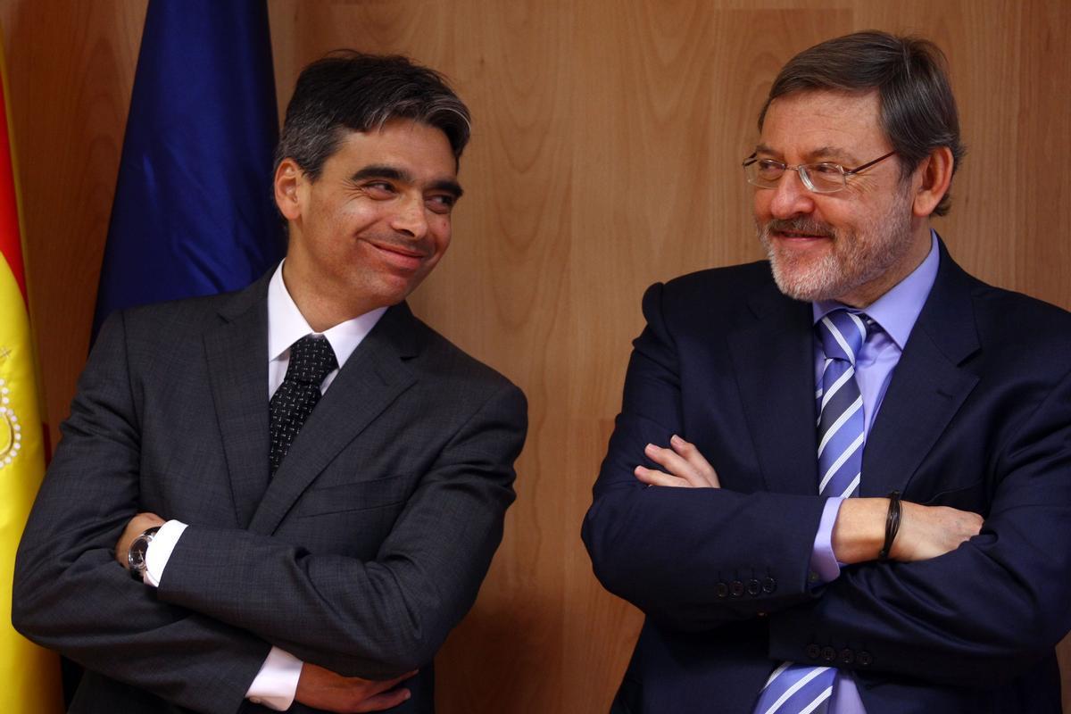 Albert Soler con Jaime Lissatvetzsky, en una imagen de archivo.